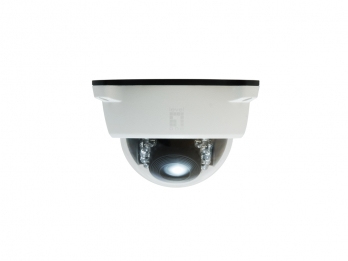 LevelOne Fixed Dome Network Camera,2-Megapixel, Outdoor, PoE 802.3af, Day & Night, IR LEDs, WDR, 3DNR (57105803)