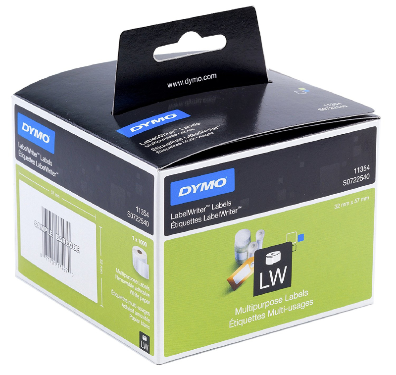 DYMO Removable Multi purpose Labels (S0722540)