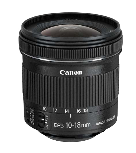 Canon EF-S 10-18 f/4.5-5.6 IS STM (4549292010152)