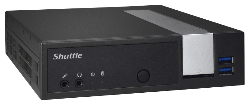 Shuttle XPC slim PC-System DX3000EP (DX3000EP)