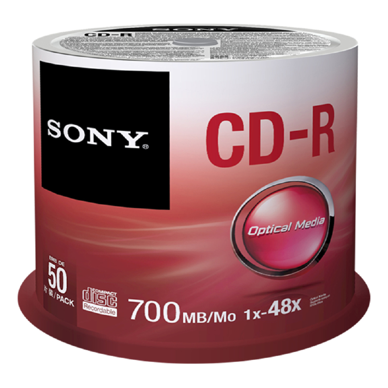 Sony CDR SPINDLE 50PK (50CDQ80SP)