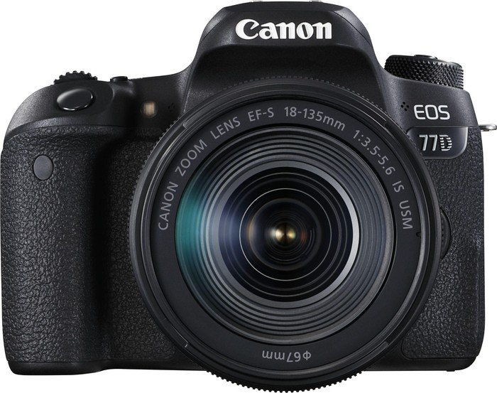 Canon EOS 77D + EF-S 18-135mm 3.5-5.6 IS USM (1892C004)
