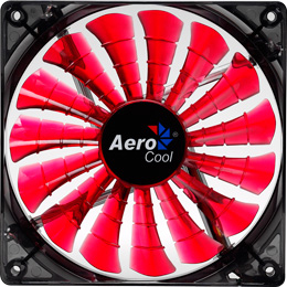 Aerocool Shark Fan Devil Red Edition 14cm (EN55475)